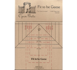Fit To Be Geese ruler