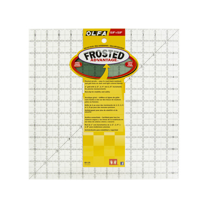 "Squadra Plexiglass Frosted 12 1/2""  x 12 1/2"""