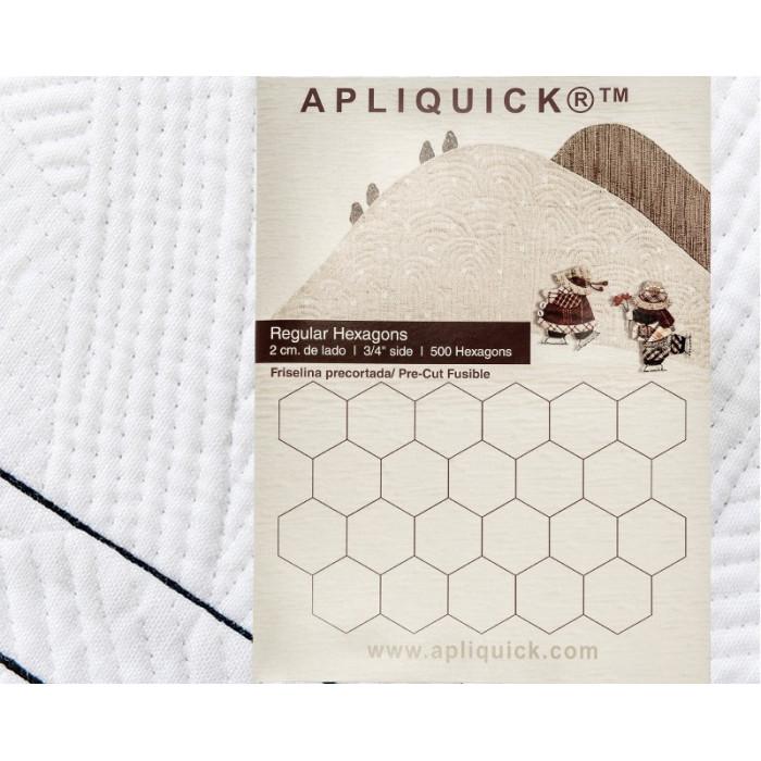 """Apliquick esagoni 3/4""""  2 cm  500pz"""
