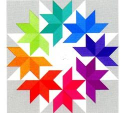 Kit Quilt esplosione di colori
