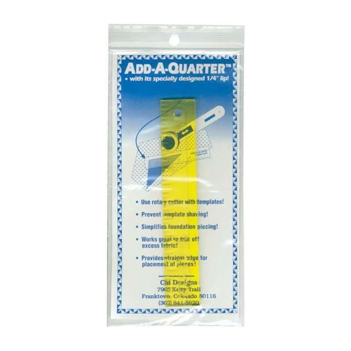 ADD- A QUARTER RULER  righello per paper piecing