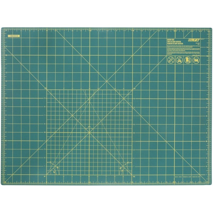Piano di taglio per patchwork