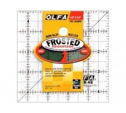 "Squadra Plexiglass Frosted 4 1/2""  x 4 1/2"""